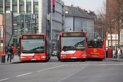 ASEAG Aachen 244_181 Freidrich Wilhelm Platz Aachen Mar 12