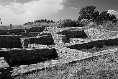 Walls of Escalante Pueblo