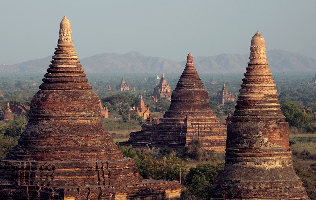 Bagan ~ Stuppa Skyline