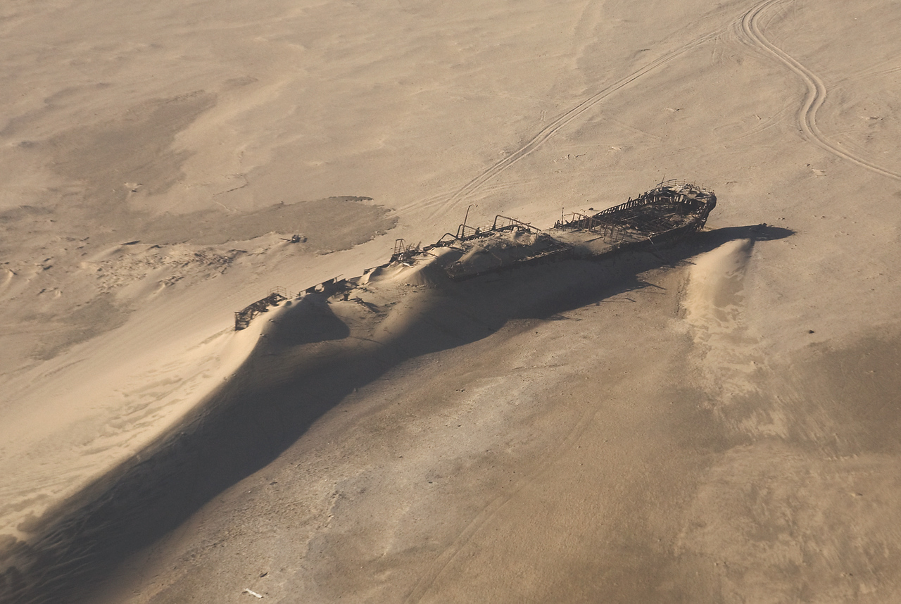 Namib Desert, Shipwreck of the Edward Bohlen