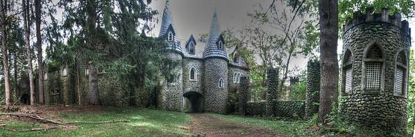 Dundas Castle panorama