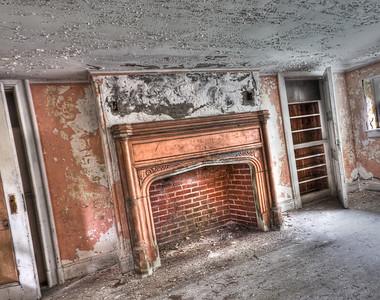 Dundas grand fireplace