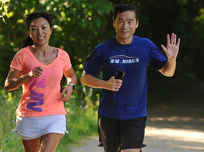 Over 170 entrants took part in the Rochester Run Michigan Cheap event held on Sunday July 16, 2017.  The 5K, 10K and 1/2 marathons were run on the Paint Creek Trail starting in Lake Orion.  (Digital First Media photo by Ken Swart)