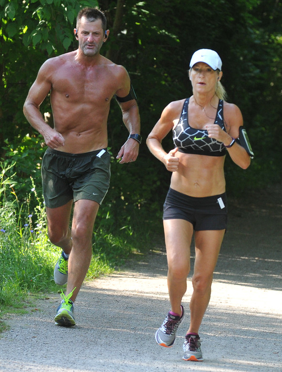. Over 170 entrants took part in the Rochester Run Michigan Cheap event held on Sunday July 16, 2017.  The 5K, 10K and 1/2 marathons were run on the Paint Creek Trail starting in Lake Orion.  (Digital First Media photo by Ken Swart)