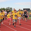 Hundreds of 5K runners were the first to start the MHP Serenity House Run in the Sun event.