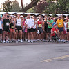 Runners gathering before the national anthem