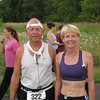 Armelian Marathoners Jim and Mary just before the start