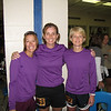 Karen, Louise and Mary - Fox River Foxes relay team before the race
