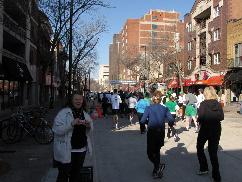 Heading down State Street