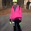 RUSA Webmaster Mary minutes before the race start.