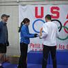 Stephen Tietz - Men's Half Marathon winner receiving his award