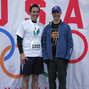 Race Director Chris Ponteri (r) and his brother Eric.