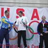 Matt Sveum - Men's Marathon winner<br /> Albertus Rohling - Men's Marathon 2nd place<br /> Steve Brenner - Men's Marathon 3rd place