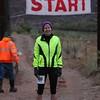 RUSA Webmaster Mary ready to start the full marathon