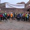 Gathering for the full marathon start