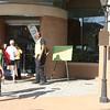 Entering the VIP area - Metro Atlanta Chamber building