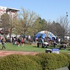 View of Centennial Olympic Park post race.