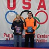 Icebreaker Indoor Marathon Awards : Pettit National Ice Center - Milwaukee, WI - Jan 22, 2012