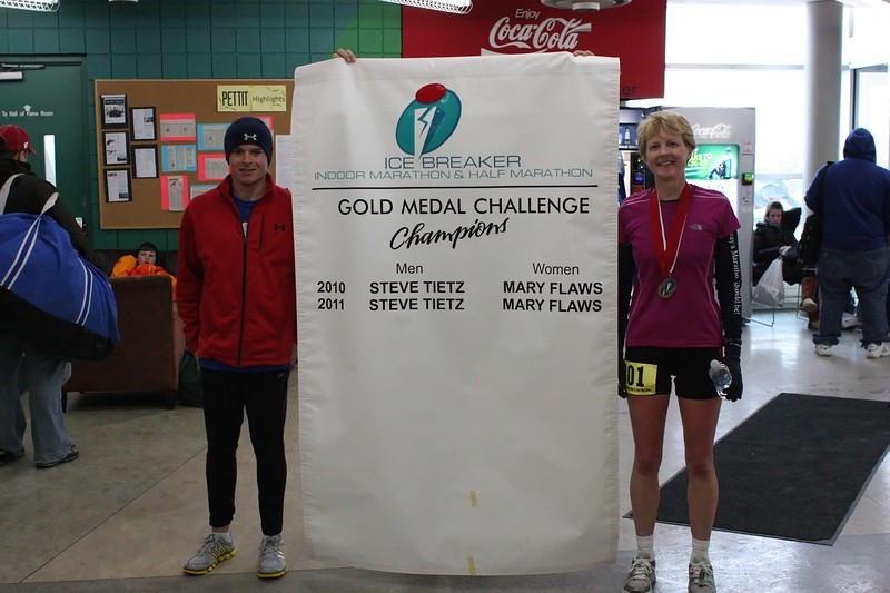 2010 and 2011 Gold Medal Challenge Champions - Stephen Tietz and Mary Flaws