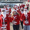 Milwaukee Santa Hustle 5K : Along the lakefront - Milwaukee, WI - Dec 22, 2012