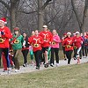 Milwaukee Santa's 5K : Along the lakefront - Milwaukee, WI - Dec 1, 2012