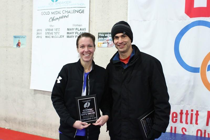 Marathon 2nd Place - Kelly Donoghue