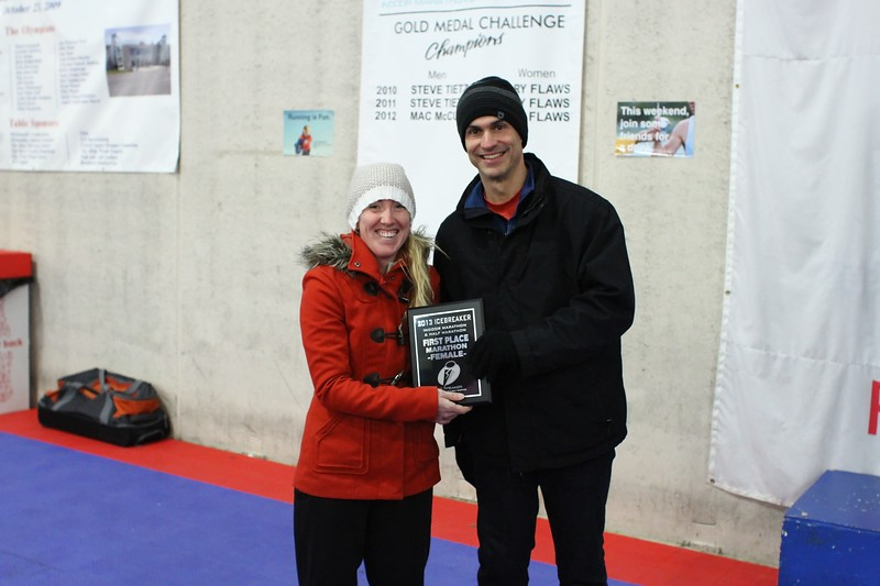 Marathon 1st Place - Amanda Daws