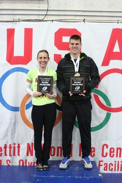 2013 Gold Medal Challenge Champions<br /> JoAnne Bernhardt and Brian Shonat