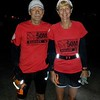 Dennis Hanna and Webmaster Mary before the start of their 3rd 100 miler