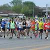 Garmin Marathon : Olathe, KS - Apr 18, 2015  Photos taken at start and some at mile 16 & 21.