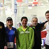"Marathon: The Streakers (they have done all seven Icebreaker Indoor Marathons).<br /> From l-r: Robb Linnemanstons, Heather Kos, Michelle Tanem, Dennis Hanna, Bill Schneider<br /> <br /> Feel free to tag yourself or friends. See and share more photos: <a href=""http://smu.gs/1Juw4C1"">http://smu.gs/1Juw4C1</a>"