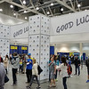 Boston Marathon packet pickup/expo