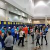 Boston Marathon packet pickup/expo