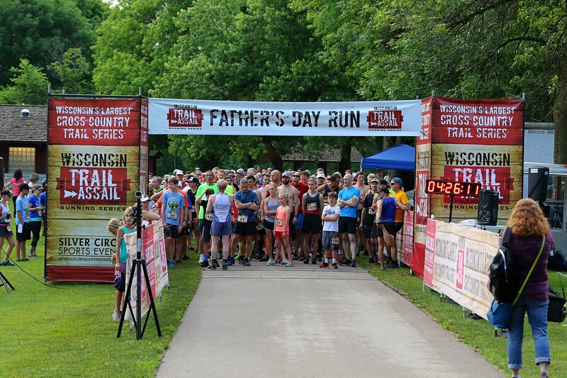 Wisconsin Trail Assail - Father's Day Run