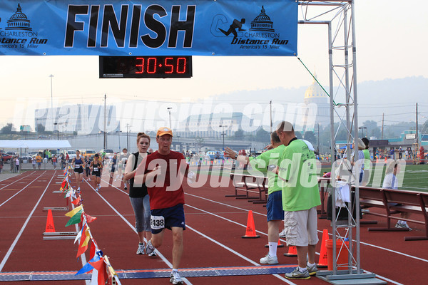 FINISH - 5K CDR - Times 29:59 thru 56:25