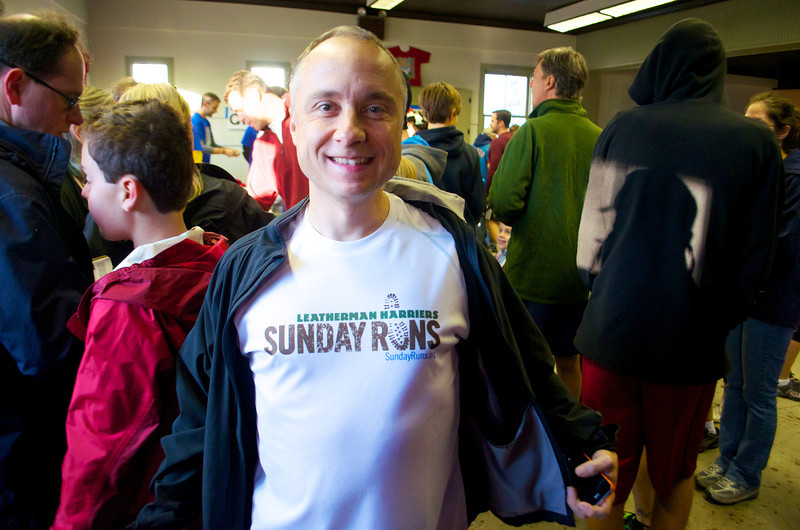 Come out and run with the Leatherman Harriers on sunday mornings at 8am all year round. Visit http://sundayruns.org! For more info and to get on the mailing list.