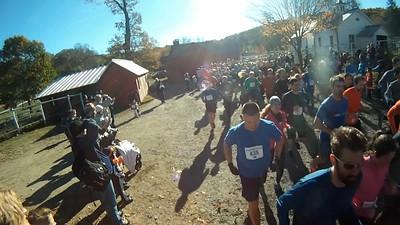 Start of 5 mile race