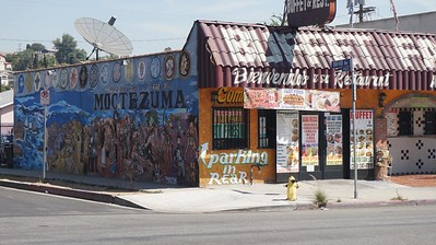 Boyle Heights  Streets & Murals (Driving Shots)