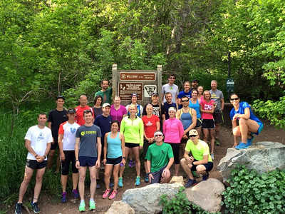 2016 Summer Weekly Trail Running Group