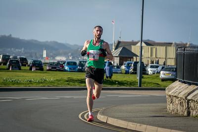 2658 Gwyn Owen  6661 at Always Aim High     Angelsey Half Marathon 16661