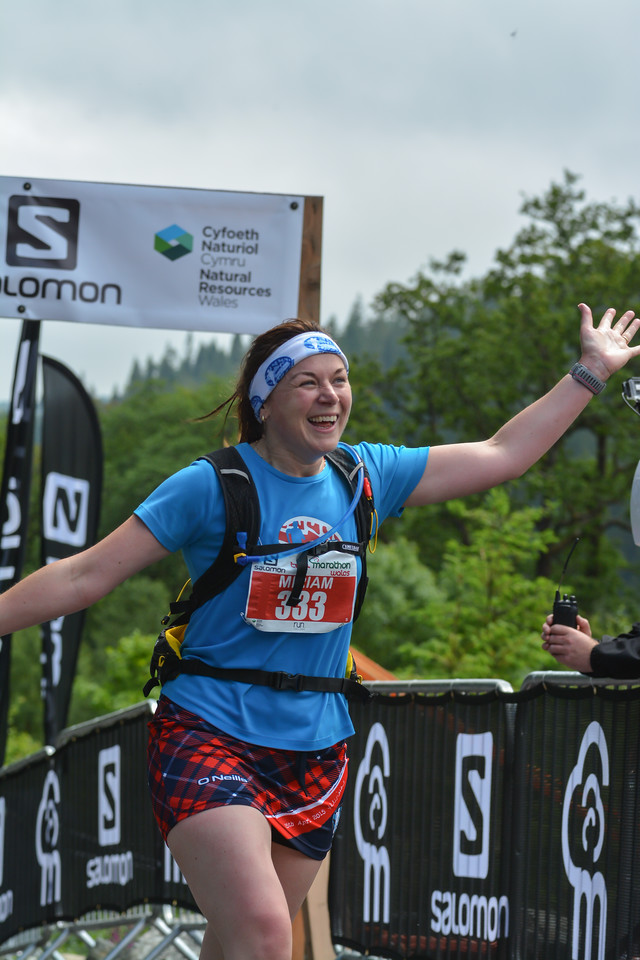 Miriam Maher Trail Marathon Wales and Half Marathon 9972 Copyright 2015 Dan Wyre Photography, all rights reserved This Image can be Purchased from www.danwyrephotography.co.uk