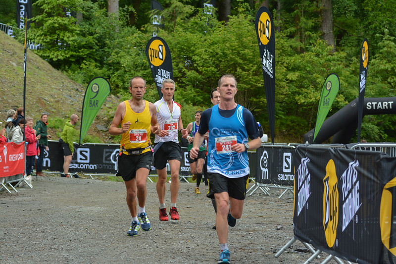 Steven Holmes Bryan Arthur Timothy Gears Trail Marathon Wales and Half Marathon 7132 Copyright 2015 Dan Wyre Photography, all rights reserved This Image can be Purchased from www.danwyrephotography.co.uk