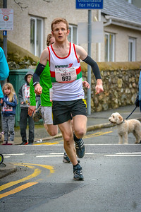 697, Andrew, Kerr  Anglesey Half Marathon Copyright 2016 Dan Wyre Photography, all rights reserved This Image can be Purchased from www.danwyrephotography.co.uk