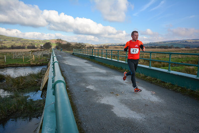 47 Matt Yelland Ras Cors Caron Half Marathon Copyright 2016 Dan Wyre Photography, all rights reserved This Image can be Purchased from www.danwyrephotography.co.uk