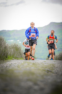 492 Owain Jones 33 Steven Knowles at Scott Snowdon Trail Marathon, Always Aim High, Wales on 24/07/2016 by Dan Wyre Photography which can be found at Copyright 2016 Dan Wyre Photography, all rights reserved