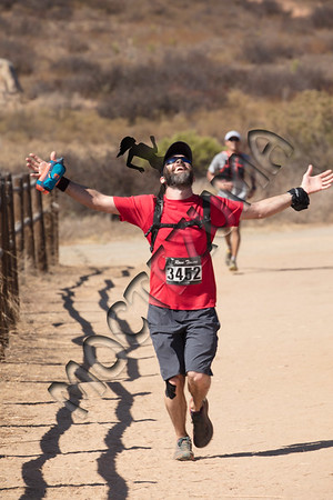 Lake Hodges 50K - Finish