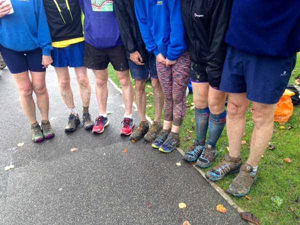 CC6 Whiteley - very muddy!