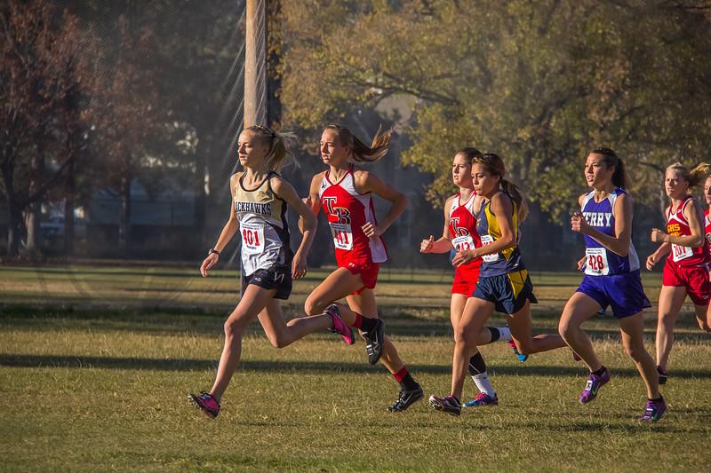 2013 State XC Meet - Class C, girls (fs)-18