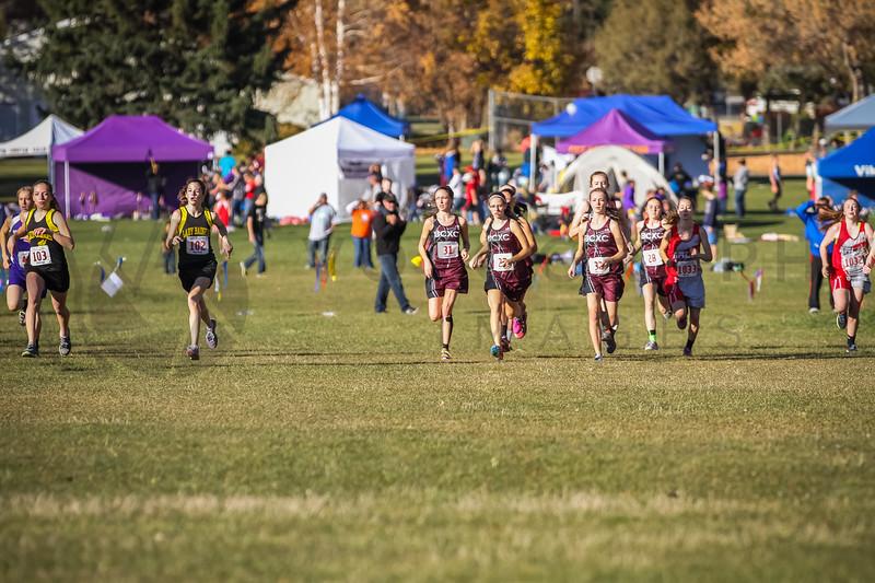 2013 State XC Meet - Class C, girls (fs)-5
