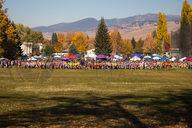 2013 MHSA State XC Championships - Class A - Girls-2